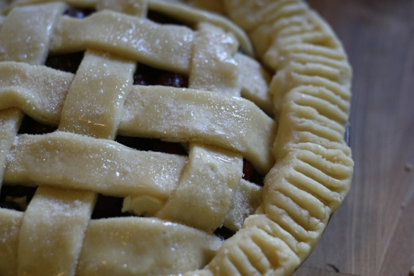 30 before 30: Sour cherry pie